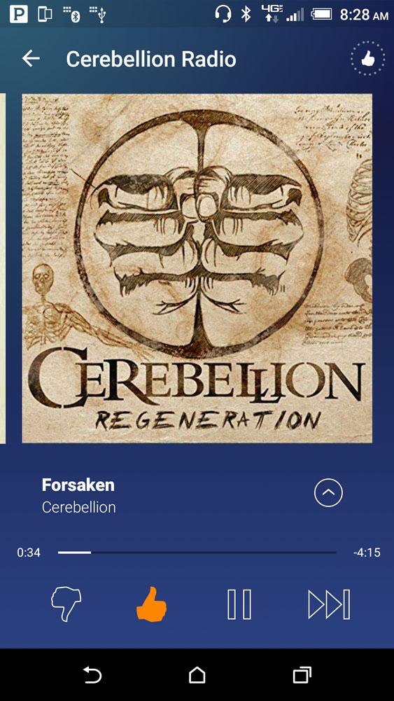 Pandora-screen-shot